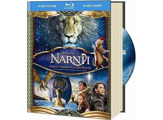 Opowieści z Narni: Podróż wędrowca do świtu (booklet Blu-ray)