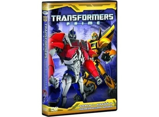 Film TIM FILM STUDIO Transformers Prime Sezon 1 Część 2