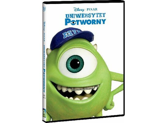 Uniwersytet potworny (DVD)