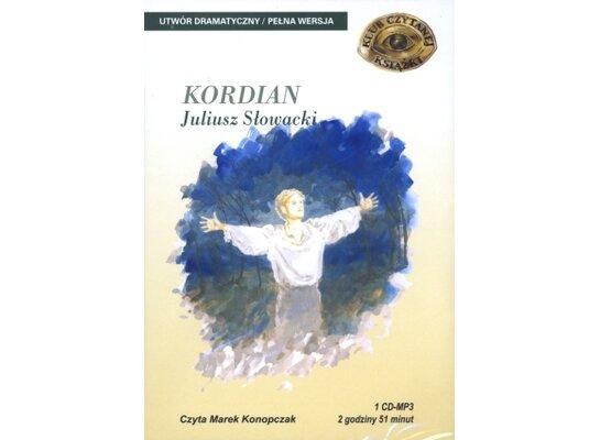 Kordian. Książka audio CD MP3