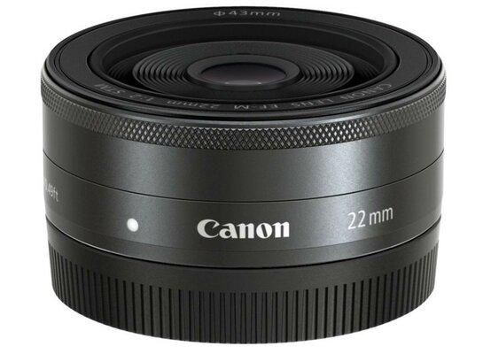 Obiektyw CANON EF-M 22mm f/2.0 STM