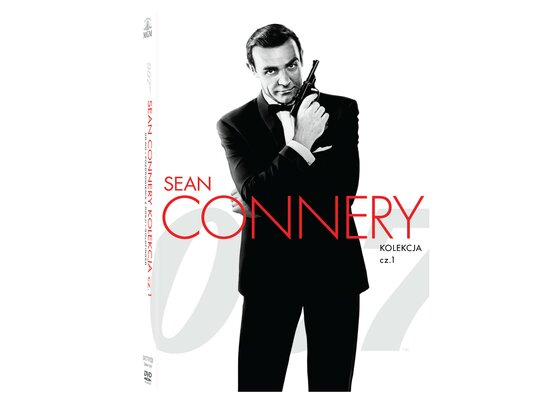 007 James Bond: Sean Connery. Kolekcja 3 filmów (3DVD)