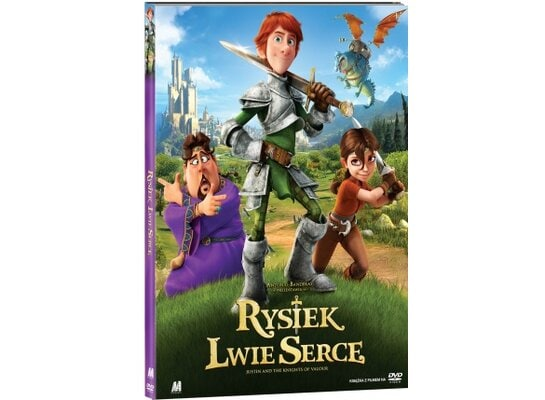 Rysiek Lwie Serce (DVD) + Książka