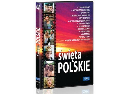 Kolekcja: Święta Polskie (4DVD)