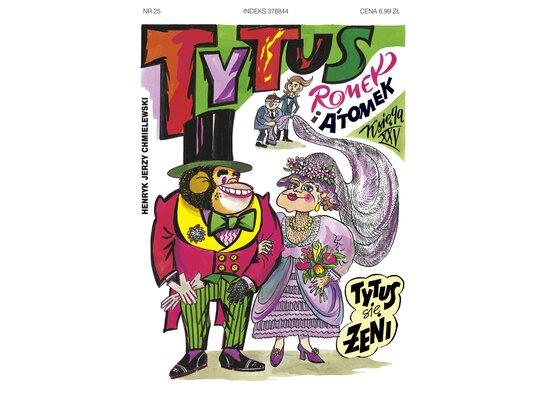 Tytus, Romek i A'Tomek. Księga XXV