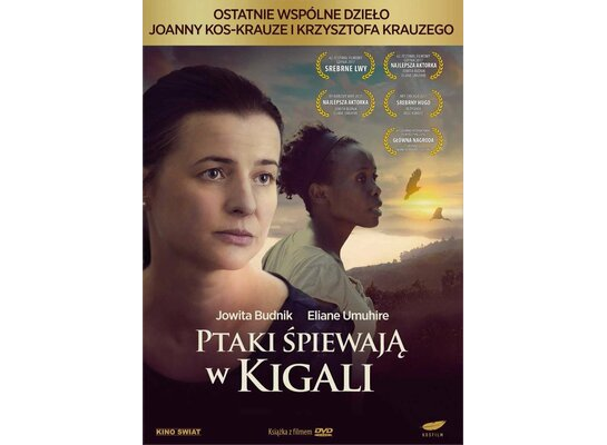 Ptaki śpiewają w Kigali (DVD) + Książka