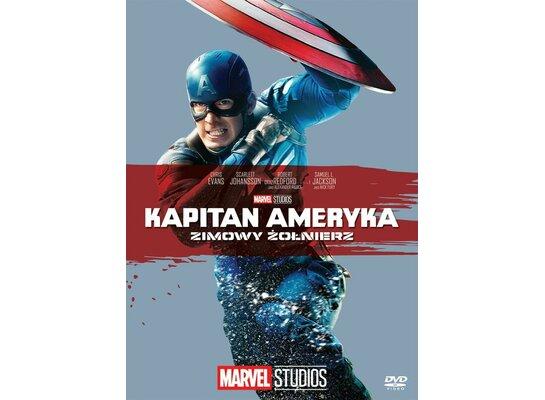 Kapitan Ameryka: Zimowy Żołnierz (DVD) Kolekcja Marvel