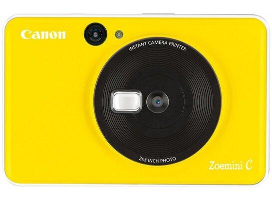 Aparat natychmiastowy CANON Zoemini C Żółty