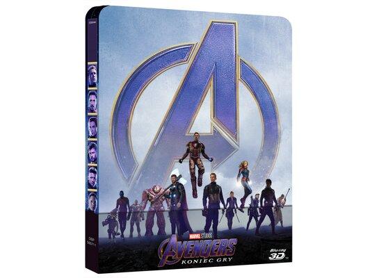 Avengers: Koniec gry 3D. Steelbook (3BD)