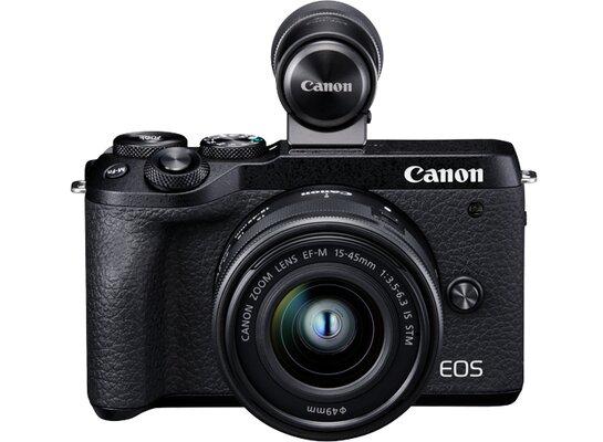 Aparat CANON EOS M6 Mark II+ EF-M 15-45mm 3.5-6.3 IS STM  + EVF