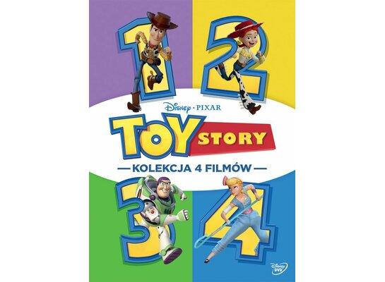Kolekcja: Toy Story (4DVD)