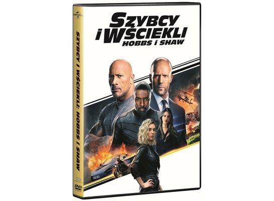 Szybcy i wściekli: Hobbs i Shaw (DVD)