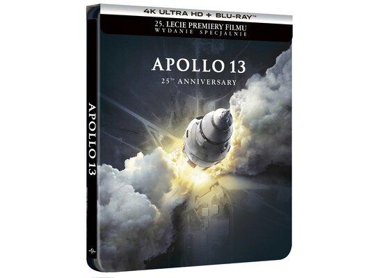 Apollo 13 4K. Steelbook (2BD) Wydanie specjalne