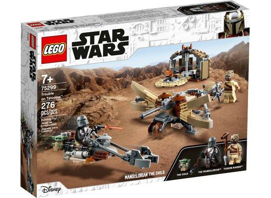 Klocki LEGO Star Wars - Kłopoty na Tatooine 75299