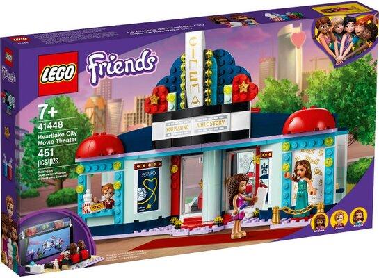 Klocki LEGO Friends - Kino w Heartlake City 41448
