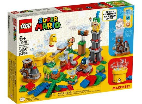 Klocki LEGO Super Mario - Mistrzowskie przygody - zestaw twórcy 71380