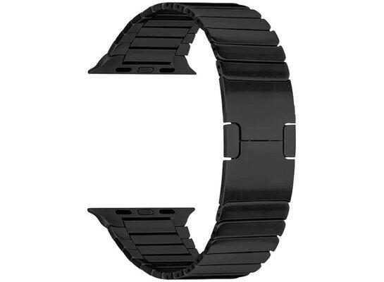 Bransoleta TOPP do smartwatcha Apple Watch 42/44 mm Czarny metal 40-37-1847