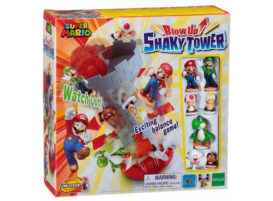 Gra towarzyska EPOCH Super Mario - Rozchwiana wieża